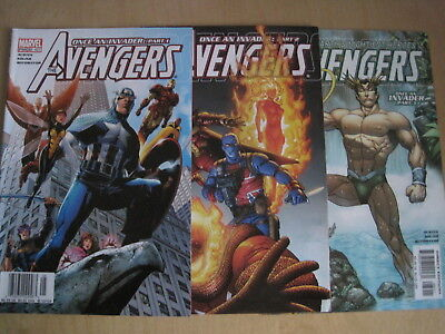 """AVENGERS 497-499 (82-84), """"ONCE AN INVADER"""" : COMPLETE 3 ISSUE 2004 Marvel STORY"""