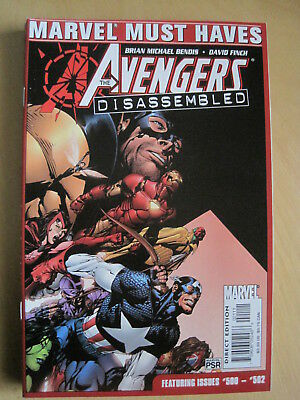 "AVENGERS issue 500-502. ""Disassembled"", G/S ""MUST HAVES"" edition. MARVEL.2004"