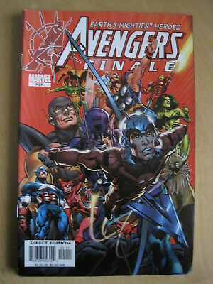 Avengers : Finale, One Shot G/s Edition Closing The Original Series. Marvel.2005