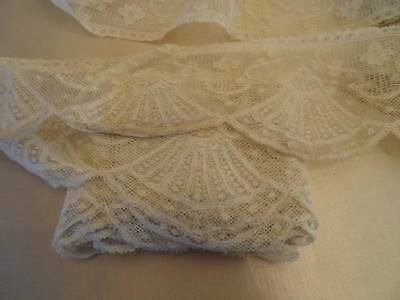 A Huge Length of French Valenciennes Lace ~ Fans ~