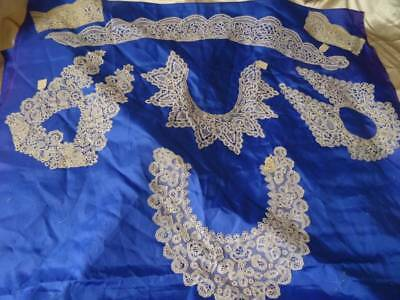 A Rare Opportunity A Huge Private Collection Of Honiton Lace C.1880 (A)
