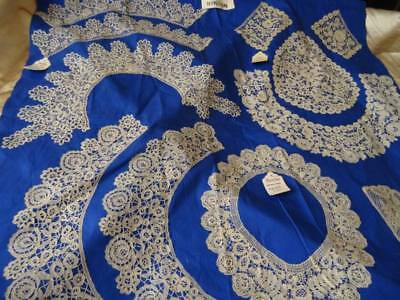 A Rare Opportunity A Huge Private Collection Of Honiton Lace C.1880 (B)