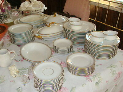 heinrich & Co Selb Bavaria Bone China Dinnerware Set Ardmore Manchester Pattern