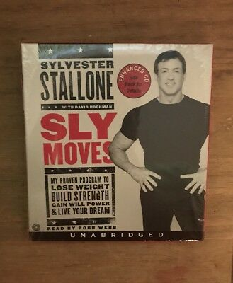 Sly Moves Unabridged - Fitness CD New Sealed Audiobook Robb Webb Lose Weight