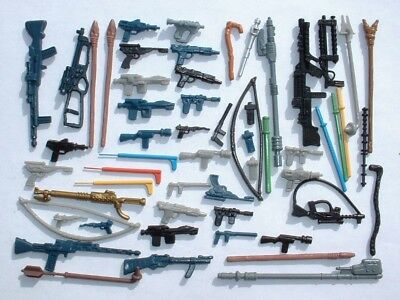 57 REPRO Weapon LOT for 1977-1983 ESB,POTF,ROTJ Vintage Star Wars