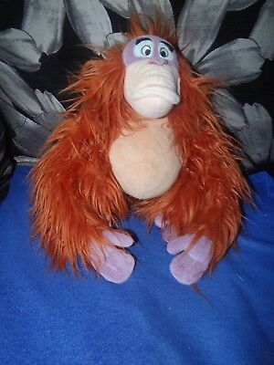Walt Disney Disneyland Paris Jungle Book King Louie Plush 11""