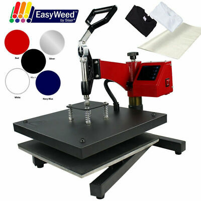 "15""x15"" DIGITAL Swing Away Heat Press Machine Print Tshirts Sublimation (BUNDLE)"