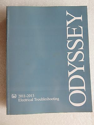 2011-2013 honda odyssey factory service manual electrical wiring diagram etm