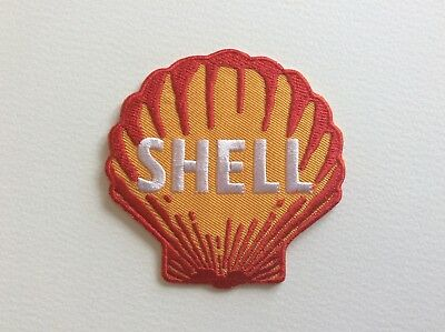 A250 // Ecusson Patch Aufnaher Toppa / Neuf / Shell Coquillage / 7.5*7.5 Cm