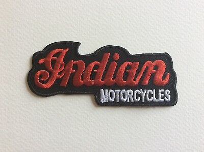 A217 // Ecusson Patch Aufnaher Toppa / Neuf / Indian Motorcycles / 9.5*4 Cm