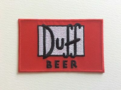 A272 // Ecusson Patch Aufnaher Toppa / Neuf / Duff Beer / 8*5 Cm