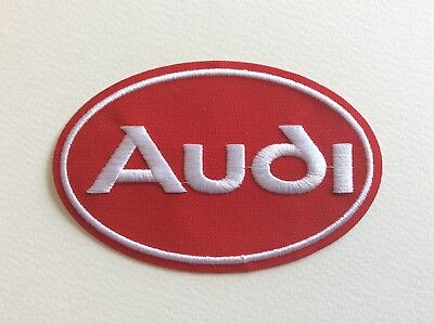 A245 // Ecusson Patch Aufnaher Toppa / Neuf / Audi Rouge / 10*6.5 Cm