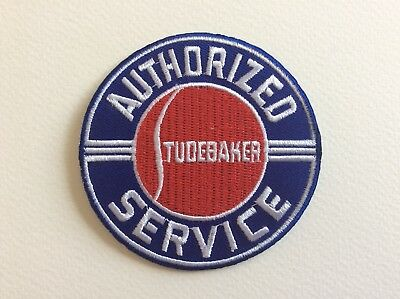 A232 // Ecusson Patch Aufnaher Toppa / Neuf / Studebaker Service / 7.5 Cm