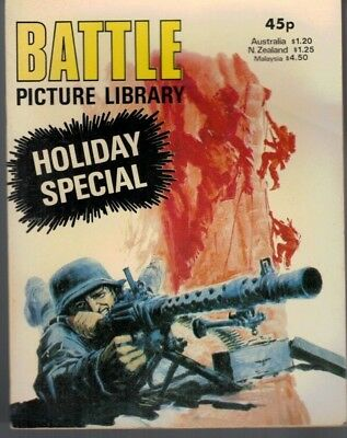 Battle Picture Library Holiday Special Comic  1981 5091F