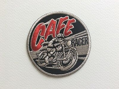 A002 // Ecusson Patch Aufnaher Toppa / Neuf / Cafe Racer / 7.5 Cm