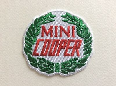 A042 // Ecusson Patch Aufnaher Toppa / Neuf / Mini Cooper / 7.5 Cm