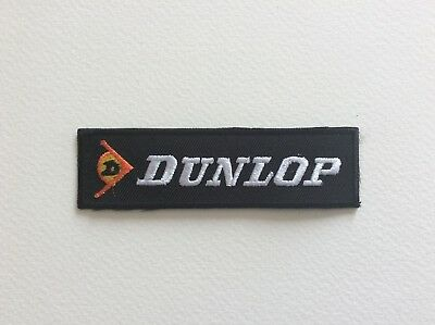 A072 // Ecusson Patch Aufnaher Toppa / Neuf / Dunlop / 9*2.5 Cm