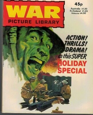 War Picture Library Holiday Special Comic  1981 5092F