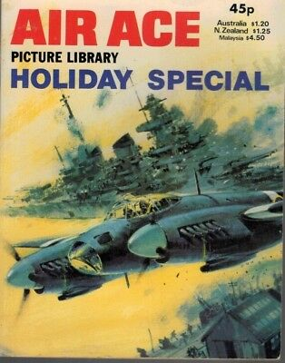 Air Ace Picture Library Holiday Special Comic  1981 5093F