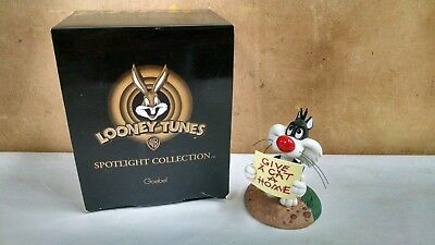 """1999 Goebel Looney Tunes Spotlight Collection """"oh Give Me A Home"""" Sylvester Jr"""