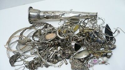 Totally Sterling Scrap Lot, 300 Grams, All As Is!