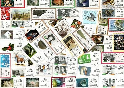 A Lovely Mix Of Mostly Recent Commemorative Stamps From Ireland