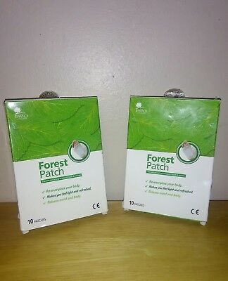 Lot of 2 Boxes of The Essence Of Nature Forest Patch, 20 Foot Patches, Lowest $