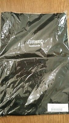 Subway Bib Apron Black