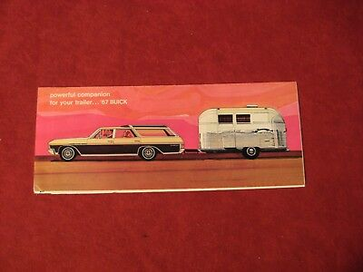 1967 Buick Dealer Salesman Dealership Brochure Original Booklet Old Catalog  GM
