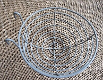 12 x  Canary nest baskets , in wire.