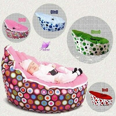 Fast Shipping Newborn Baby Bean Bag Kids Nursery Seat Sofa Bed Without Filling