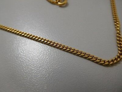 9520 || Edles Luxus Panzer Collier Necklace 750 Gold Wunderschön !