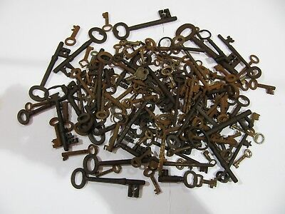Key, Salvage hoard, 134 x Antique/ vintage iron-steel Keys.