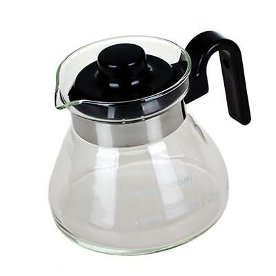 300ml Anti-explosion Glass Kettle Home Coffee Carafe Pot Milk Water Bottle