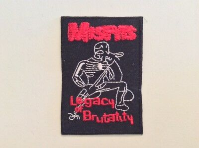 M145 // Ecusson Patch Aufnaher Toppa / Neuf / Misfits Legacy Of Brutality 5,5*8