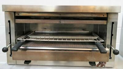 Electric Grill Salamander S510 Industrial Catering Free Standing Steak BBQ Steel