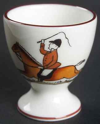 Crown Staffordshire HUNTING SCENE Egg Cup 7480691