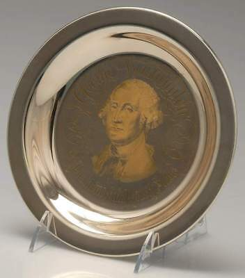 Franklin Mint PRESIDENTIAL PLATE 1972 George Washington 8939334