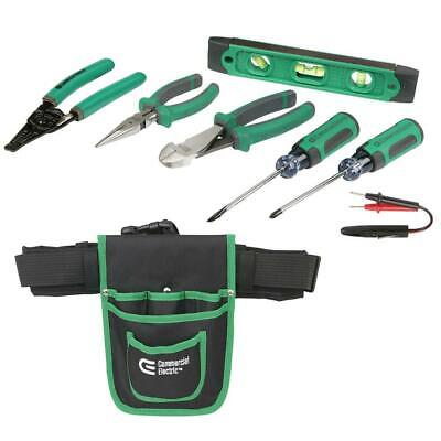 Commercial Electric 8-Piece Electrician's Tool Set (Lot of 2)