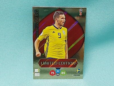 Panini Adrenalyn World Cup Russia 2018 WM  Marcus Berg  - Limited Edition