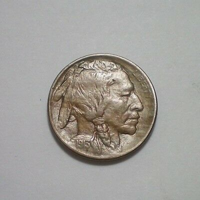 1913 D Type 1 Buffalo Nickel Au