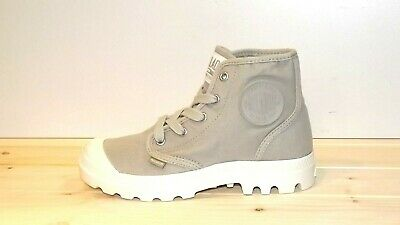 Discount 10% Palladium Boots Lady Pampa Hi Booties Canvas 36 37 38 39 Shoes