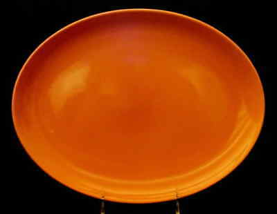 """Iroquois CASUAL CANTALOUPE 12 5/8"""" Oval Serving Platter 268299"""