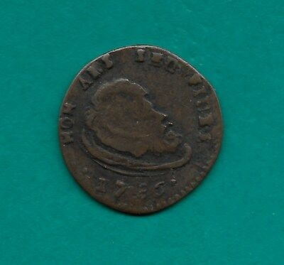 1786 Malta Tari Head of John the Baptist on Platter 23mm Order of Malta Coin