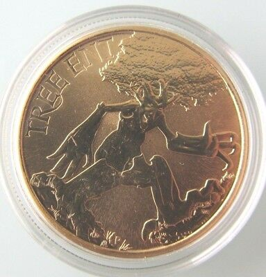 2011 Australia Unc $1 Coin in Capsule - TREE ENT - Perth Mint Mythical Creatures