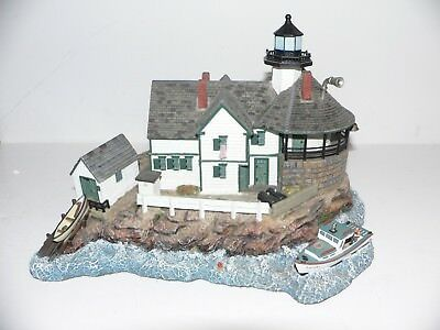 Harbour Lights #515 Cuckolds  Maine Lighthouse  Society Exclusive  2001