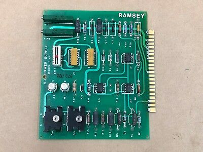 Ramsey Ac Power Supply Model 10-42 Plc Load Cell
