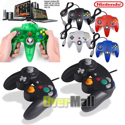 Super Nintendo N64 NES SNES Controller GAME PAD For PC MAC Raspberry Pi 3 US