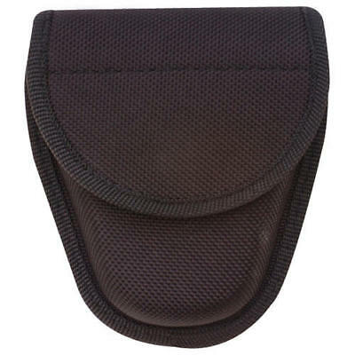 "Tru-Spec 9036000 Black Hid Snap Double Nylon Handcuff Case 5-1/3""x 4-1/2"""