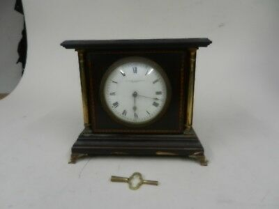French mantel clock,The Sussex goldsmiths co